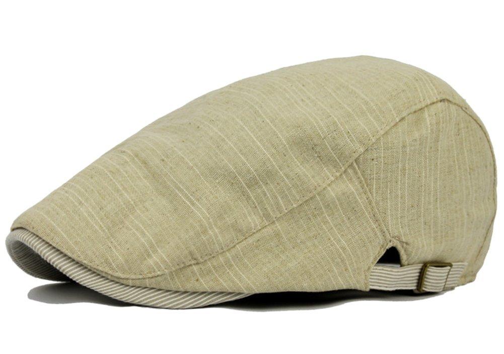Aikesi Boinas Gorra de Béisbol Casquillo Gorra De moda Retro de Ocio Sombreros Unisex(Amarillo claro)