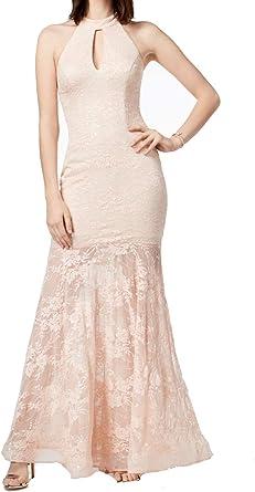 Xscape Women/'s Lace Halter Dress