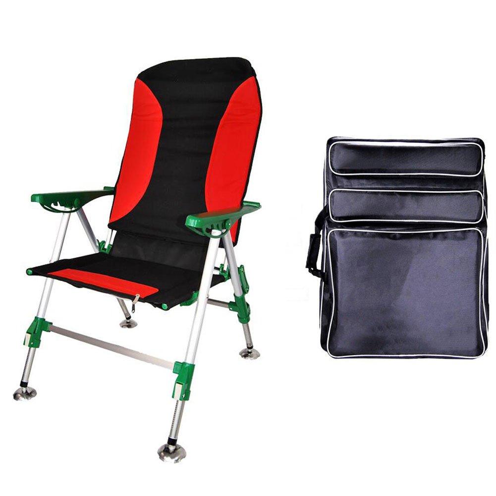 Moolo All-Terrain Angeln Stuhl Multifunktions-Liegestuhl Ultralight Angeln Stuhl