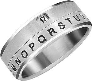 Retroworks Project Mc2 Secret Message Decoder Ring (Size 08)