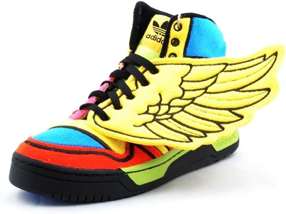 Pulido promedio constructor  Amazon.com | adidas Jeremy Scott JS Wings Rainbow Mens Shoes G61380 Sun 8 M  US | Basketball
