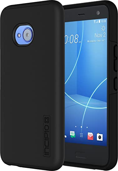 separation shoes f1784 a0314 Incipio DualPro HTC U11 Life Case with Shock-Absorbing Inner Core &  Protective Outer Shell for HTC U11 Life - Black