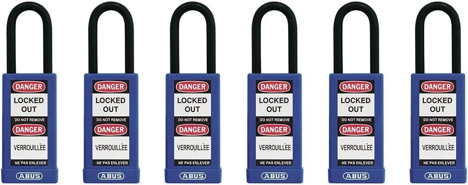 ABUS 74//40 Safety Padlock Black Keyed Different