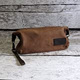 Custom Personalized Mens Dopp Travel Bag
