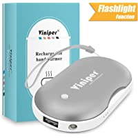 Viniper Rechargeable 5200mAh Power Bank & Hand Warmer