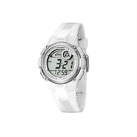 Calypso 5558/1 - Reloj para niñas de cuarzo, correa de goma color blanco