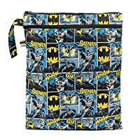 Bumkins DC Comics Wet Dry Bag, Batman Comic