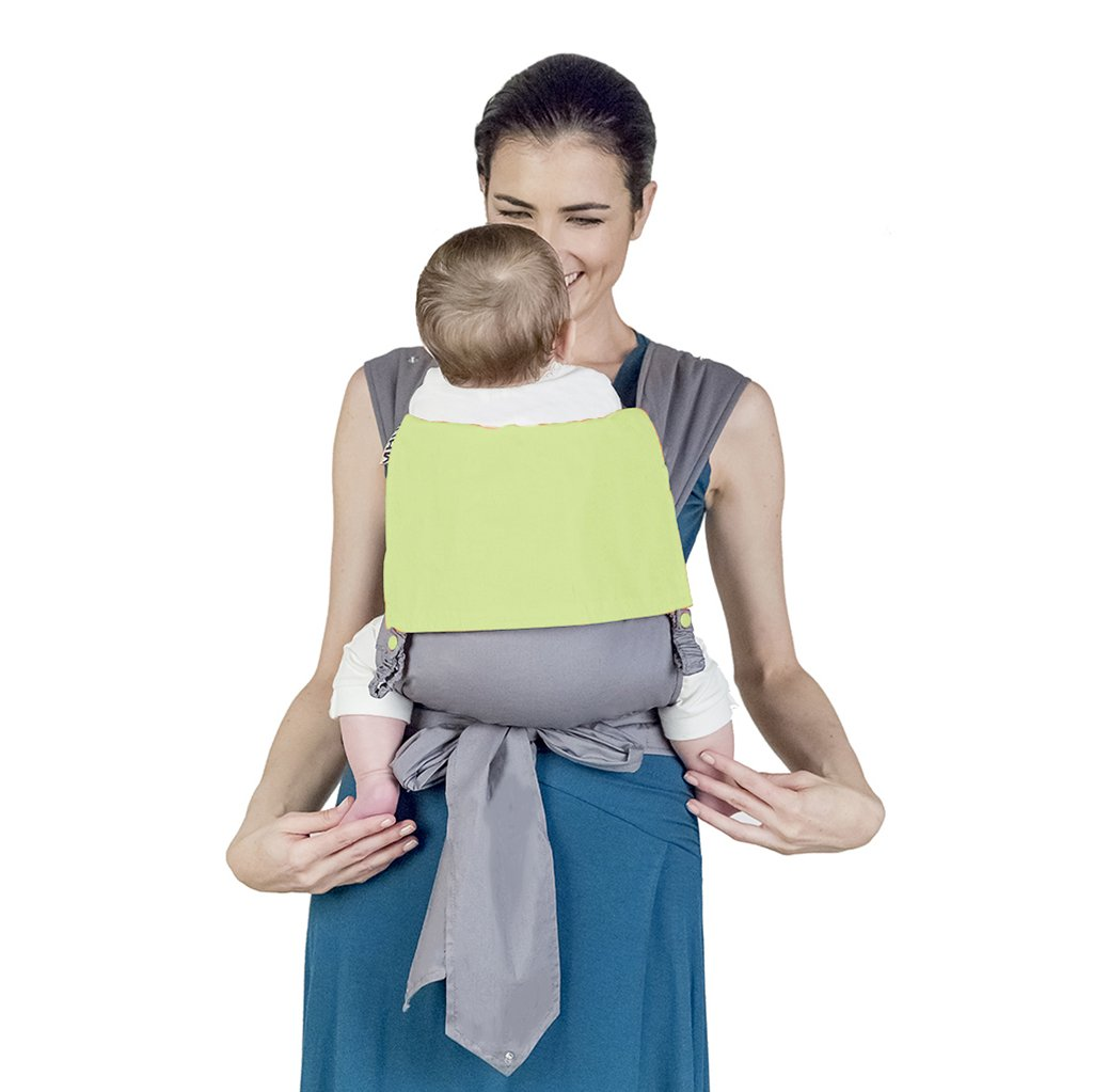 MHUG Mei Tai baby carrier, ergonomic and patented. 100% Made in Italy, Strawberry