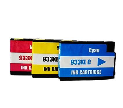 hi-world Reemplazo para HP 932 933 cartucho de tinta de alto ...