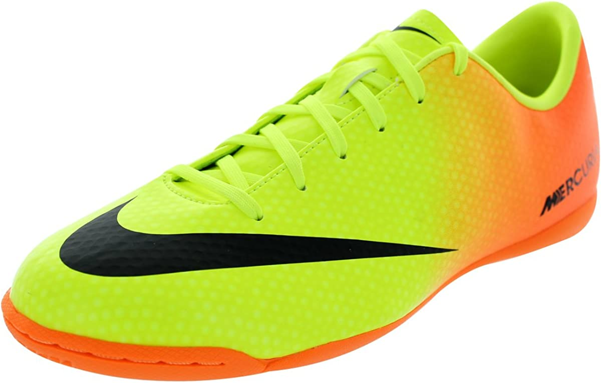 abrigo Húmedo necesidad  Amazon.com | Nike Mercurial Victory IV IC Indoor Shoes - Metallic Mach Prpl  | Soccer