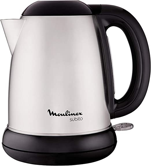 Moulinex BY540D10 Hervidor, 2400 W, 1.7 L, 1dB, acero inoxidable ...