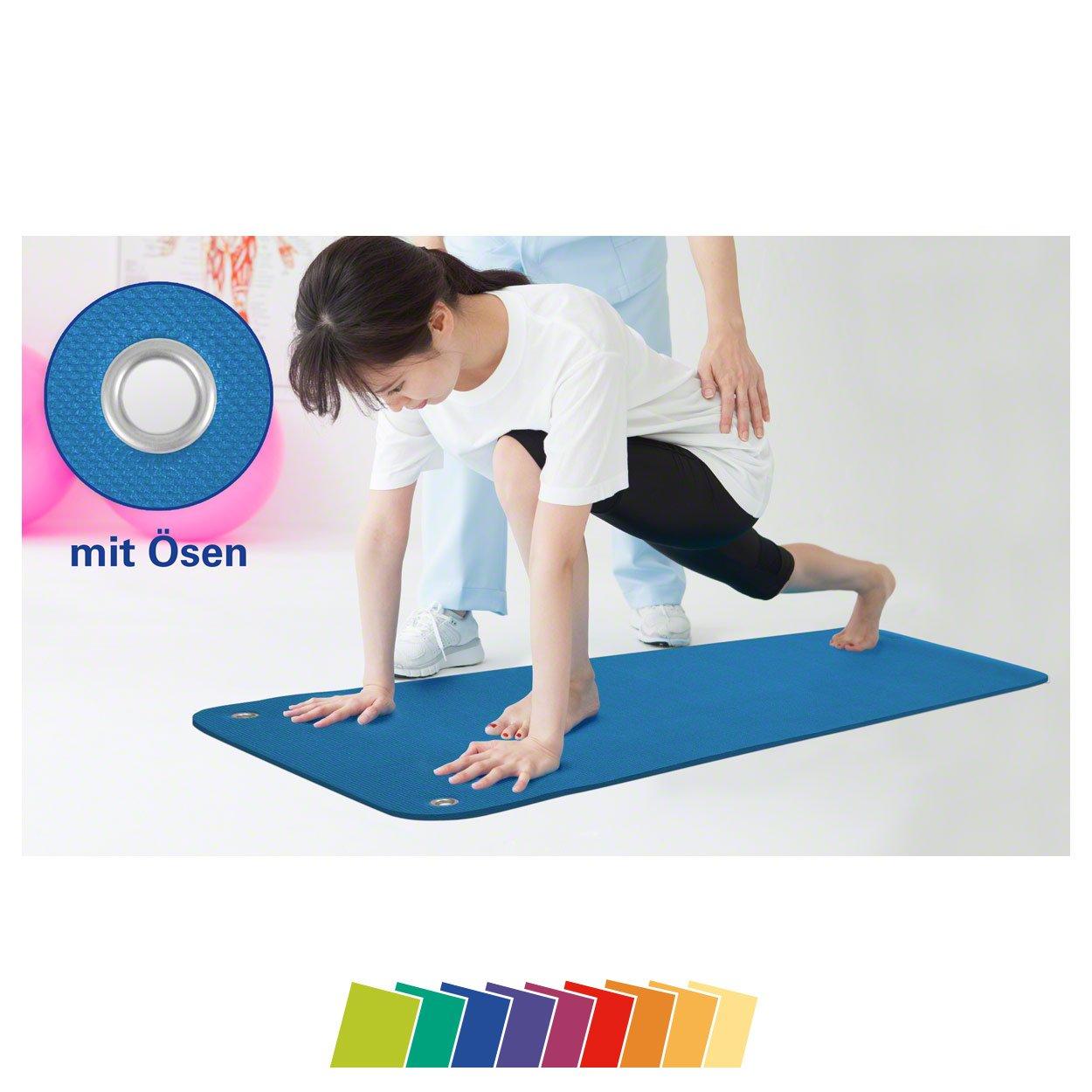 Sport-Tec Therapiematte inkl. Ösen, LxBxH 140x60x1,5 cm