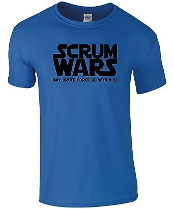 "Camiseta de manga corta para hombre con motivos graciosos de Rugby con el texto """