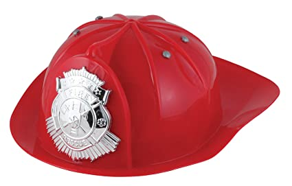 Amazon.com: Toysmith TSM669-F Fireman Hat: Toys & Games