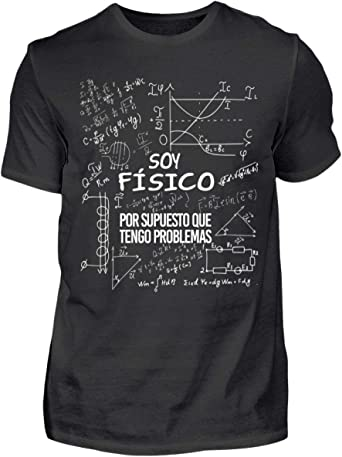 Shirtee Soy Físico - Tengo Problemas - Camisa orgánica ...