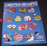img - for Christmas Ornaments Tree Trimming in Plastic Canvas - Book 166 book / textbook / text book