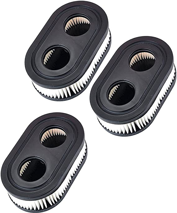 KlirAir 3PCS 798452 (593260) Air Filters Cartridge for Briggs & Stratton 550E 550EX Series 798452,4247,5432,5432K,593260 Engine Lawnboy Lawnmower