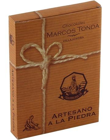 Chocolates Marcos Tonda Chocolate Artesano A La Piedra - 8 Paquetes de 200 gr - Total