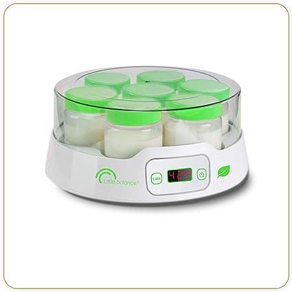 Little Balance 8316 Yaourtiere 7 Digital Yaourtiere Pour Des Yaourts Faits Maison Desserts Lactes 14 Pots En Verre 190ml Timer Jusqu A 14h Arret Automatique Amazon Fr Cuisine Maison