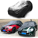 Heinmo Car Cover All Weather Waterproof Dust Rain Resistant Rain Protection for Cooper R60 R61 F54 F55 F56 F60 Clubman Countr
