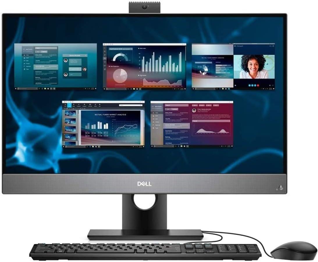 Dell OptiPlex 7000 7480 All-in-One Computer - Intel Core i7 10th Gen i7-10700 Octa-core (8 Core) 2.9GHz - 8GB RAM DDR4 SDRAM - 256GB SSD - 23.8