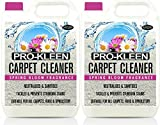 Pro-Kleen Carpet Shampoo Cleaning Solution - 2 x 5 Litres Spring Bloom Fragrance - Professional Concentrate Works with all Machines
