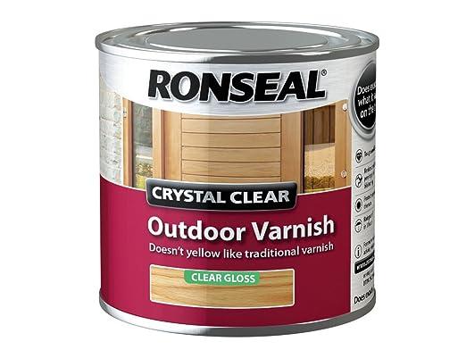 Ronseal - Barniz de acabado mate para exterior de cristal ...