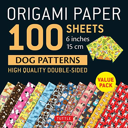- Origami Paper 100 sheets Dog Patterns 6