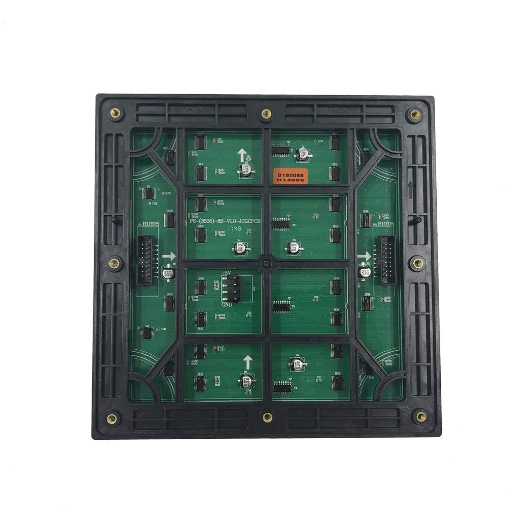 m/ódulo llevado p6 32x32 p/íxeles 192x192mm tama/ño 1 // 8scan smd 3in1 Panel de visualizaci/ón llevado a todo color al aire libre p6 6mm placa rgb