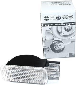 Original Audi Türwarnleuchte Reflektor Rückstrahler Weiß Beleuchtet 4b0947415a Seitenleuchte Türen Auto