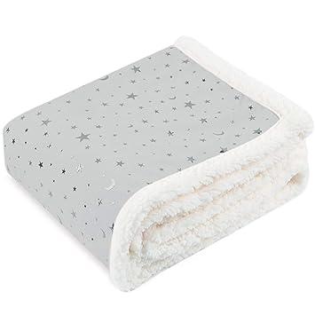 Stripes polka dots Nojo Little Love Cloud  Double-Sided Soft  Baby  Blanket