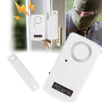 Hanbaili Kit de alarma de seguridad personal, ventana de ...