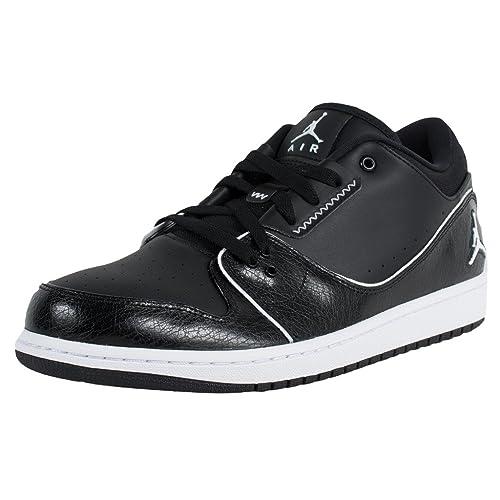 Jordan 1 Flight 2 Low Black White 654465 021 Size 8  Amazon.ca  Shoes    Handbags 4719bbc7b