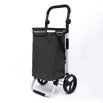 Carrito de la compra Carro De Compras Ligero, Resistente Al Desgaste Y Ligero Material Carro
