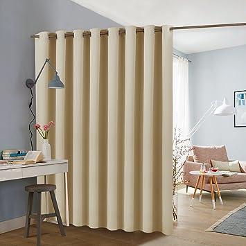 PONY DANCE Büro Schlafzimmer Wohnzimmer Raumteiler Vorhang 243 X 457 Cm (H  X B)