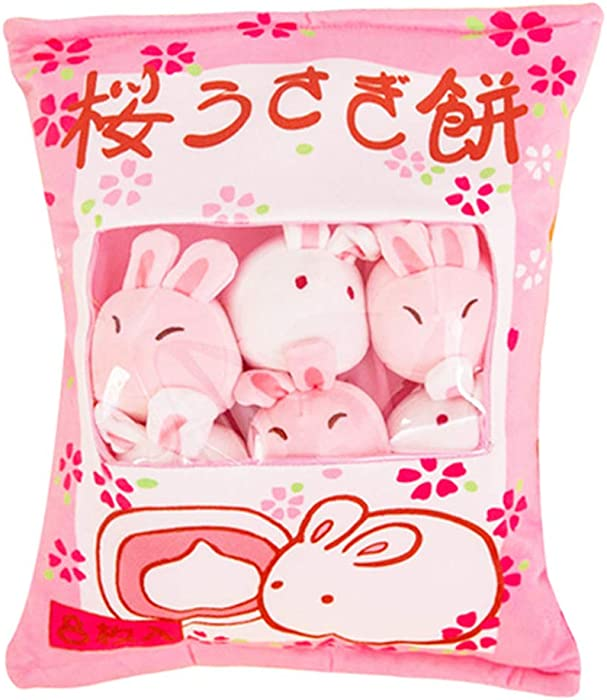 Top 9 Pink Food Plush