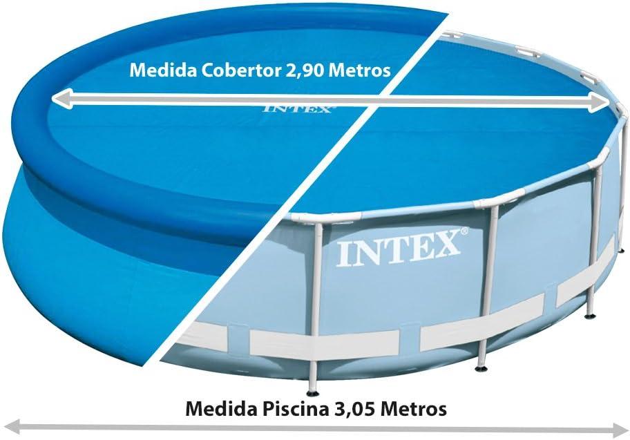 Intex 29021 - Cobertor solar para piscinas 305 cm de diámetro ...