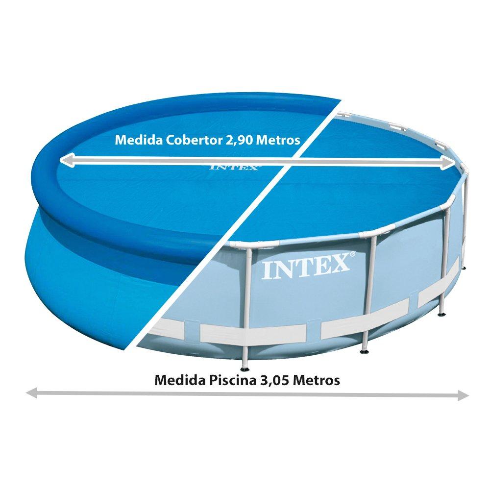 Intex cobertor solar para piscinas 244 cm de di metro - Piscinas intex espana ...