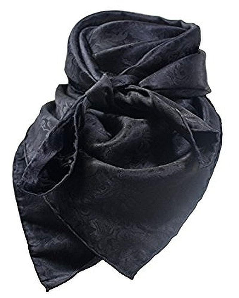 Wild Rag Black Silk Jacquard WRJBL