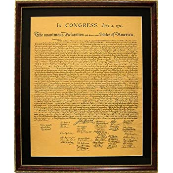 Amazon.com: The Declaration of Independence High Quality