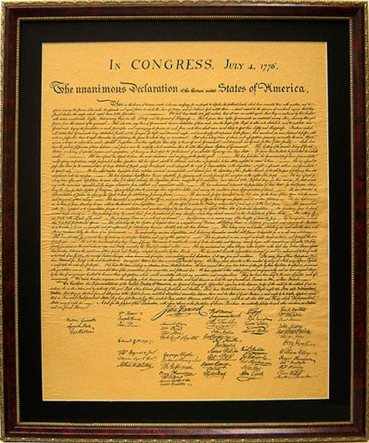 Amazon.com: The Declaration of Independence High Quality Replica ...