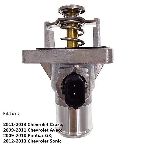 2011 chevy cruze thermostat housing bolt size