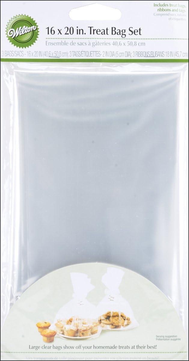 Wilton Treat Bags, Set of 4