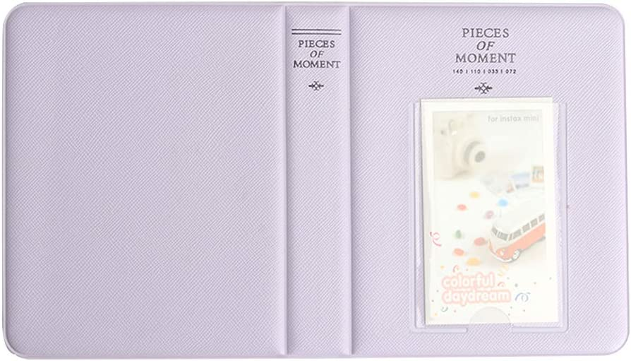 Anter 108 Pockets Instax Mini Photo Album para Fujifilm Instax Mini 11 8 8 9 7s 25 26 50s 70 90 Instant Camera /& Name Card