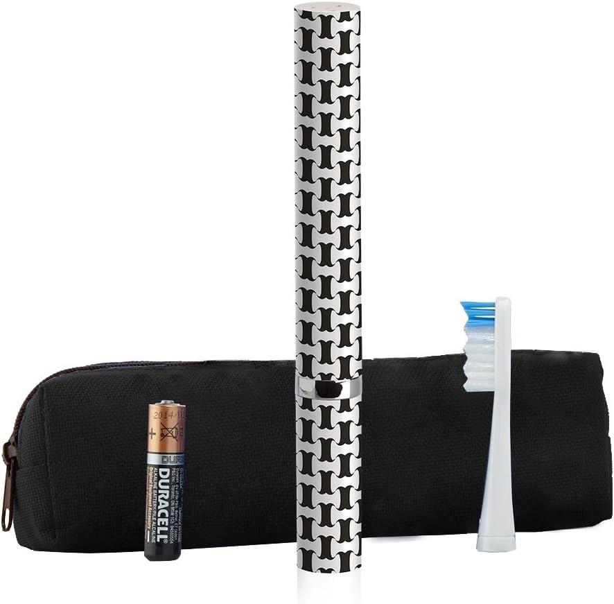 Violife Slim Sonic Cepillo de dientes con estuche para viajero, Talla única, Bartlett/Negro, 1: Amazon.es: Salud y cuidado personal