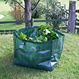 Garden Rubbish Waste Bags Sack Bin Refuse Sack Leaf Grass Bag Shower Proof