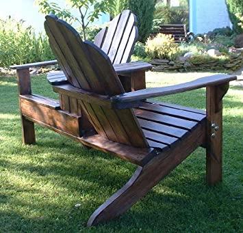 Adirondack Garden Courting Chairs Fully Assembled   Choose From A Range Of  Colour Finishes