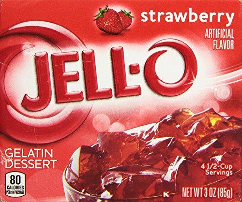 strawberry jello mix - 1
