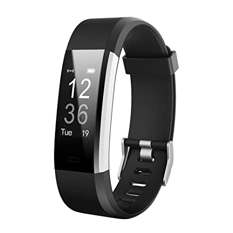 Amazon com: KOBWA Fitness Tracker, Stylish 0 96