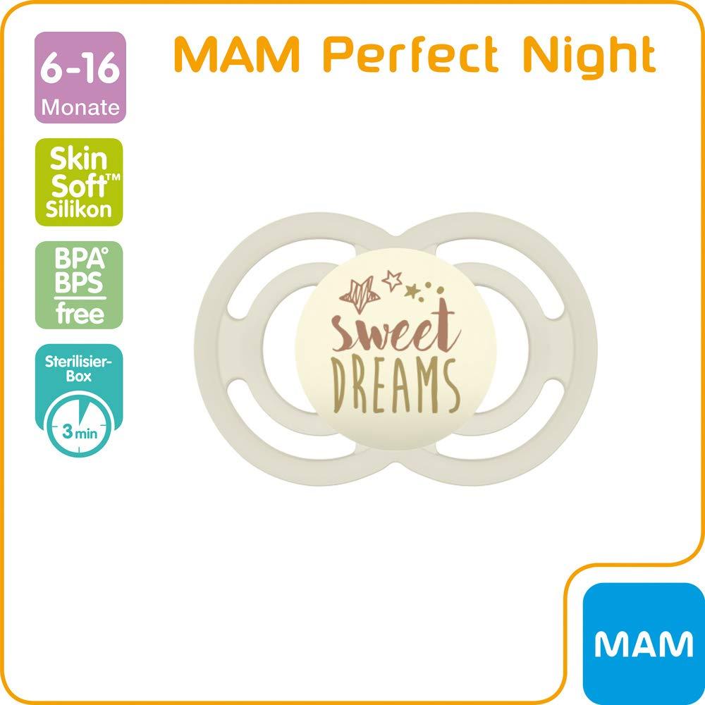 Mam Perfect Night luminoso, Chupete, 6 mo + Joven//Juego De ...